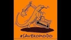 #SaveKomodo Menggema, Masyarakat Gelar Petisi Tolak Pembangunan Jurassic Park di Pulau Komodo
