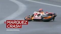 Momen-Momen Penting di MotoGP Prancis, Termasuk Saat Marc Marquez Jatuh 2 Kali