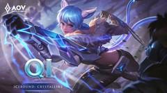 Qi Icebound: Crystalline Skin Spotlight - Garena AOV (Arena of Valor)