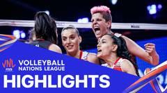 Match Highlight | 3rd Position | VNL WOMEN'S - Japan 0 vs 3 Turkey | Volleyball Nations League 2021