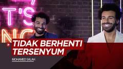 Reaksi Mohamed Salah Saat Jumpa Kembarannya di London