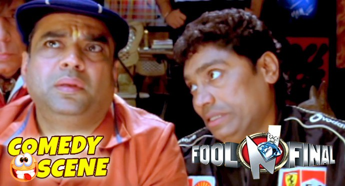 Paresh Rawal Shahid Kapoor Trying To Rid Of The Dead Body Comedy Scene Fool N Final