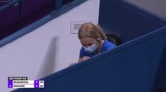 Match Highlights   Garbine Muguruza 2 vs 0 Maria Sakkari   WTA Qatar Total Open 2021
