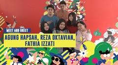 Meet n Greet : Reza Oktavian, Fathia Izzati, & Agung Hapsah | ON OFF FESTIVAL 2019