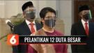 Presiden Jokowi Lantik 12 Duta Besar dengan Protokol Kesehatan | Liputan 6