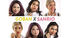 Goban Melted Matte Lip X Sanrio - FD Swatch Sister