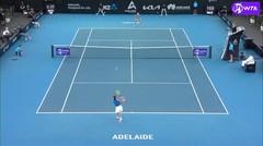 Match Highlights | Anastasija Sevastova 2 vs 0 Caroline Garcia | WTA Adelaide International 2021