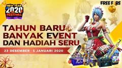 Free Fire Bagi-Bagi Hadiah Keren di New Year Festival!
