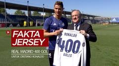 3 Tahun Lalu, Hadir Fakta Menarik Jersey 400 Gol Real Madrid untuk Cristiano Ronaldo