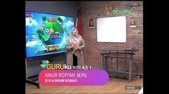 GURUku SBOTV KELAS 1 Tema - PENDIDIKAN AGAMA ISLAM - 20 November 2020