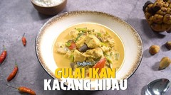 Resep Gulai Ikan Kacang Hijau