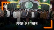 Ulama Ciamis Tolak Ajakan People Power