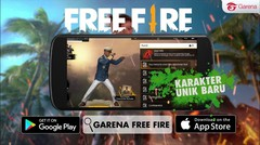 V0013 - Garena Free Fire - 4 New Characters