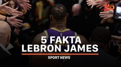 5 Fakta Lebron James