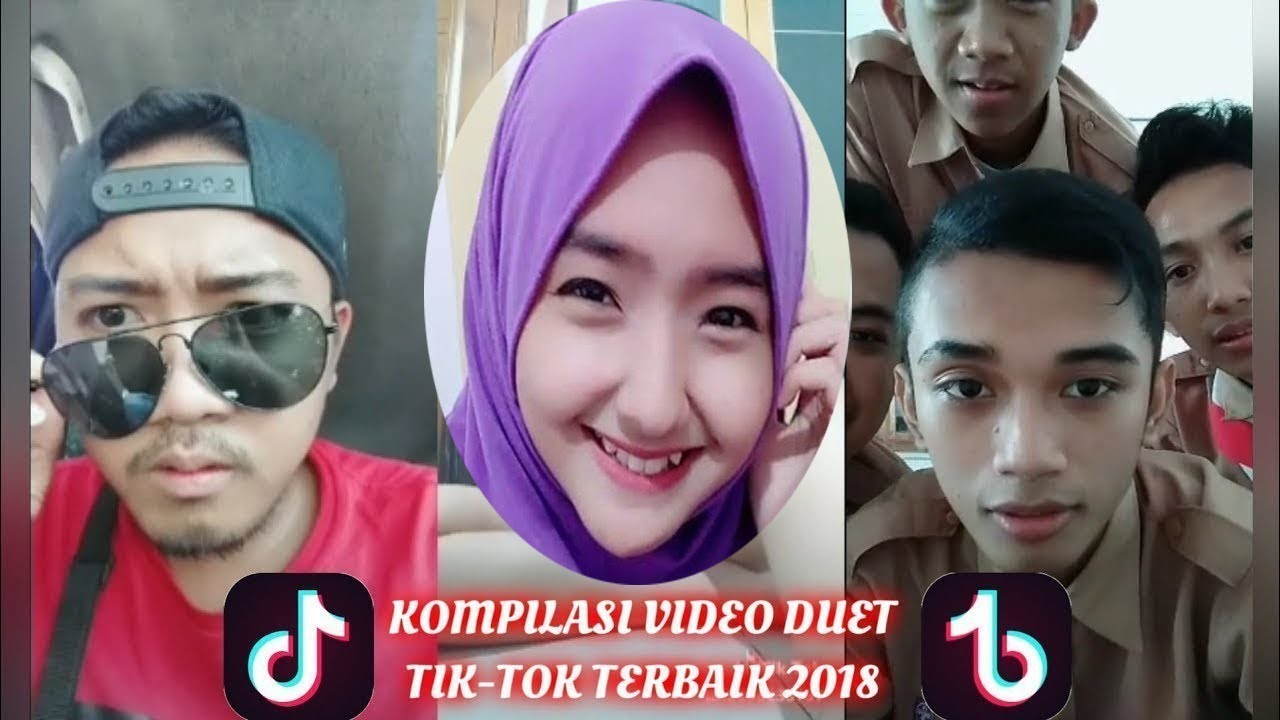 Kumpulan Video Tik Tok Indonesia Duet Bikin Baper Dan Lucu Ban Terbaru 2018