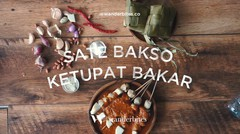 Resep Ramadhan : Sate Bakso Ketupat