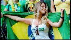 Suporter cantik Brazil di piala dunia