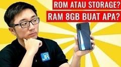 Nyobain Smartphone Android dengan RAM 8 GB di 2020, Cukup