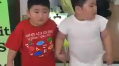 Two Kids Loving Their Fat Loss Vibration Plate