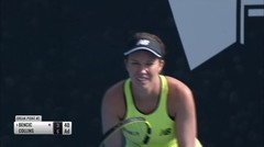 Match Highlight | Danielle Collins 2 vs 0 Belinda Bencic | WTA Adelaide International 2020