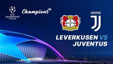 Leverkusen vs Juventus, Liga Champions