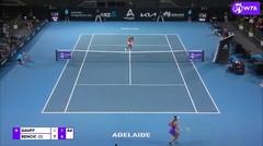 Match Highlights | Belinda Bencic 2 vs 1 Coco Gauff | WTA Adelaide International 2021