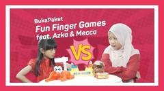 Mainan Anak Jaman Now: Fun Finger Games feat. Azka Mecca   BukaPaket for Kids