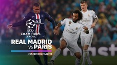 Full Highlight - Real Madrid vs Paris Saint Gemain I UEFA Champions League 2019/2020