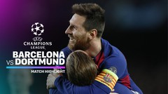 Full Highlight - Barcelona vs Dortmund I UEFA Champions League 2019/2020