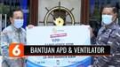 Rumah Sakit TNI AL Terima Bantuan APD dan Ventilator dari YPP SCTV-Indosiar | Liputan 6