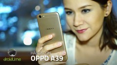 OPPO A39 Hands-on