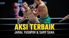 Aksi Terbaik | Jamal Yusupov & Samy Sana | Highlight ONE