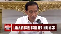 Soroti Sistem Penerbangan, Jokowi Sebut Bandara di Indonesia Terlalu Banyak