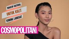 Makeup Natural untuk Kulit Kuning Langsat