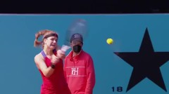 Match Highlights | Anastasia Pavlyuchenkova 2 vs 0 Karolina Muchova | WTA Mutua Madrid Open 2021