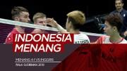 Highlights Piala Sudirman 2019, Indonesia Vs Inggris 4-1