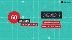 60 Seconds Data Science | Episode 3 | Programming for Data Science