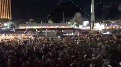 breaking news>> Penembakan massal di Las Vegas menewaskan setidaknya 58 orang sementara lebih dari 400