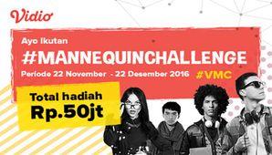 Vidio #MannequinChallenge #VMC