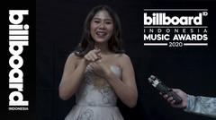 Interview Nadin Amizah di Billboard Indonesia Music Awards 2020 - #BIMA2020