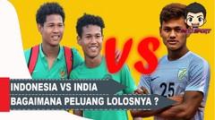 PREDIKSI Piala Asia U-16 Hadapi India, Bagaimana Peluang Lolos Indonesia
