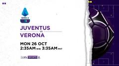 Juventus vs Verona - Senin, 26 Oktober 2020 | Serie A 2020