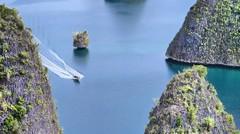 Painemo Blue Lagoonnya Raja Ampat Papua.