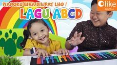 LAGU ANAK ALFABET FEAT. OLIKE HAND ROOL PIANO - UYYUS & AYASHA