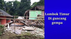 Lombok di Goncang Gempa