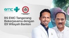 RS EMC Tangerang Bekerjasama dengan IDI Wilayah Banten - 31 Oktober 2020