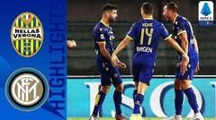 Match Highlight | Verona 2 vs 2 Inter Milan | Serie A 2020
