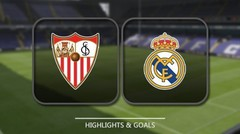 Sevilla vs Real Madrid Highlights and Goals || 9 May 2018
