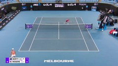 Match Highlights | Ashleigh Barty 2 vs 1 Shelby Rogers | WTA Melbourne Open 2021