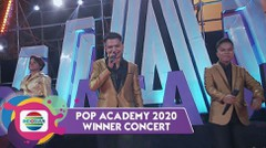 "Selalu Bahagia!! Martha-Julian-Gullit-Tabi ""Laskar Pelangi""! | Pop Academy 2020"